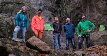 Neues Klettergebiet in der Inselsbergregion