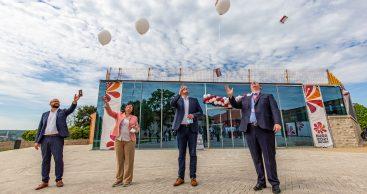 Dauerausstellung und Besucherzentrum Zitadelle Petersberg eröffnen