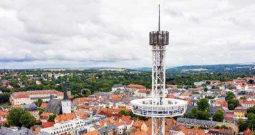 Weimar von oben: City-Skyliner kehrt zurück