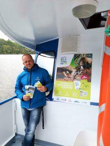 Mario Thiesel von der Fahrgastschifffahrt Hohenwarte