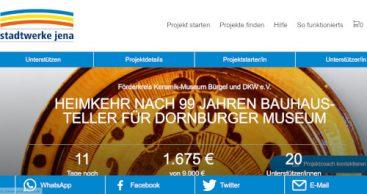Heimkehr nach 99 Jahren – Bauhaus-Teller für Dornburger Museum
