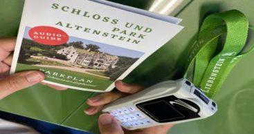 Bad Liebenstein eröffnet Tourist-Information im Schloss Altenstein