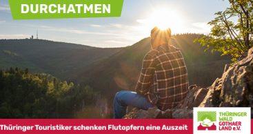 DURCHATMEN – Thüringer Touristiker schenken Flutopfern eine Auszeit