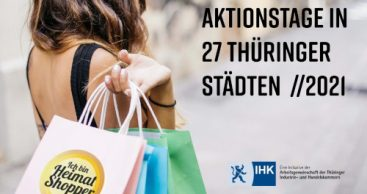 Heimat shoppen 2021 in Thüringen